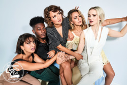 Milana Vayntrub, Chloe Bennet, and Dove Cameron - Ben Watts Photoshoot at Comic Con in San Diego For Entertainment Weekly - 7/19/18
