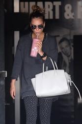 Jessica Alba - Leaving the gym in LA 6/23/18