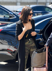 Jenna Dewan - At LAX Airport 2/18/19