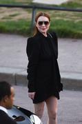Lindsay Lohan - Saint Laurent Fashion Show in Paris 9/25/2018 40f0e3985770944