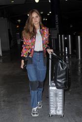 Debby Ryan - At JFK Airport 11/16/18