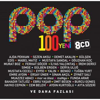 Çeşitli Sanatçılar - Pop 100 Yeni (8 CD) (2018) Full Albüm İndir