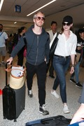 Anne Hathaway - At LAX Airport 5/15/18