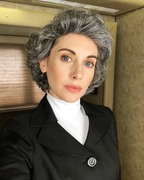 """Alison Brie - Behind the Scenes shots from """"Drunk History"""" (via Instagram)"""