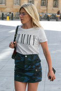Mollie King -                                        BBC Studios London June 22nd 2018.