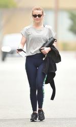 Julianne Hough - Leaving the gym in LA 4/5/18