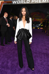 "Zoe Saldana - Premiere Of Disney And Marvel's ""Avengers: Infinity War"" in LA 4/23/18"