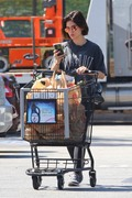 Lucy Hale - Grocery shopping in LA 8/6/18