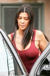 Kourtney Kardashian - Out for lunch in Sherman Oaks 1/15/18