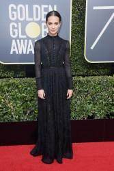 Alicia Vikander - 75th Annual Golden Globe Awards in Beverly Hills 1/7/18