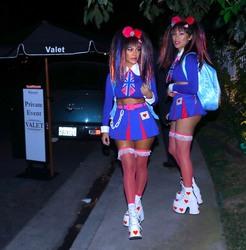 Kourtney Kardashian - Arriving at a halloween party in LA 10/31/18