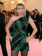 Miley Cyrus  -        2019 Met Gala Celebrating Camp: Notes on Fashion New York City May 6th 2019.