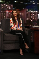 Sarah Hyland -               Jimmy Kimmel Live January 23rd 2018.