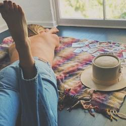 Ashley Tisdale Lying on the Floor - 5/20/18 Instagram