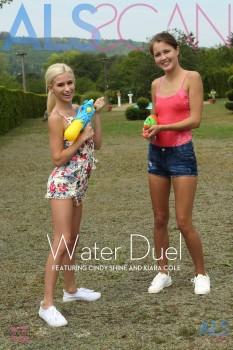 Cindy Shine & Kiara Cole - Water Duel