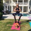 Kelly Ripa Acro Yoga with her girlfriends