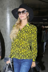Paris Hilton - At LAX Airport 11/25/18