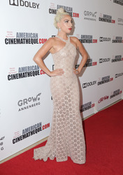 Lady Gaga - 32nd American Cinematheque Award Presentation in Beverly Hills 11/29/18