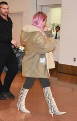 Kim Kardashian - At Haneda Airport in Tokyo 2/26/18
