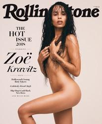 Zoe Kravitz - Rolling Stone, Nov 2018