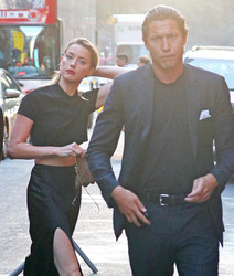 Amber Heard - Out in NYC 6/29/18