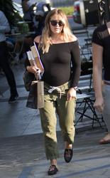 Hilary Duff - Leaving Nine Zero One Salon in West Hollywood 7/26/18