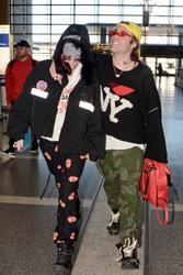 Bella Thorne - At LAX Airport 2/25/18