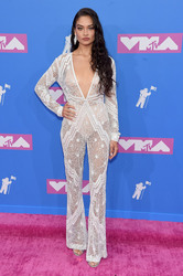 Shanina Shaik - 2018 MTV VMA's in NYC 8/20/18