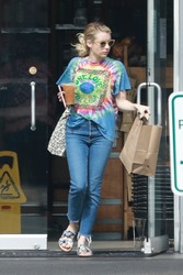Emma Roberts - Out for lunch in Los Feliz 8/20/18
