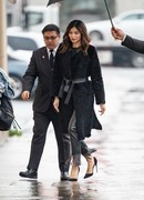 Gemma Chan -              ''Jimmy Kimmel Live'' (Arrival) Hollywood March 6th 2019.