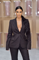 Kim Kardashian - KKW Beauty Pop Up Shop in Costa Mesa 12/4/18