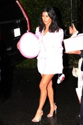 Kourtney Kardashian - Attending Khloe Kardashian's baby shower in Beverly Hills 3/10/18