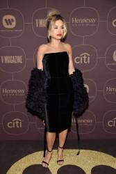 Rita Ora - Warner Music Group Pre-Grammy Celebration in NYC 1/25/18