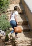 Elizabeth Hurley - Leaves Tagomago Island After A Brief Holiday (6/10/18)