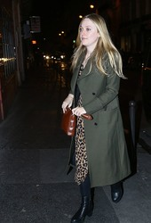 Dakota Fanning - Out in Paris 1/21/19