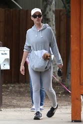 Katy Perry Walking Her Dog Nugget in Studio City, CA - 5/12/18