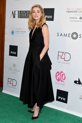 Amber Heard - at 8th Annual Official First Ladies Luncheon, New York,  9/25/2018