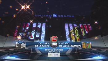 NHL 2018 - RS - Calgary Flames @ Chicago Blackhawks - 2018 12 02 - 720p 60fps - English - SN 4986981051336314