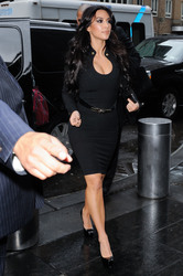 Kim Kardashian - At the Wendy Williams Show in NYC | January 19th, 2011