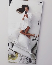 "Lea Michele  - ""Bed"" Series"