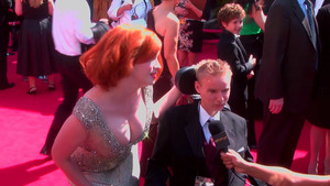 Christina Hendricks at the 63rd Annual Primetime Emmy Awards in LA - September 18, 2011 bd7092902571324