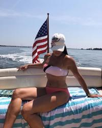 Brooke Shields in a Bikini - 7/23/19 Instagram