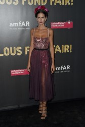 Izabel Goulart - 2017 amfAR Fabulous Fund Fair in NYC 10/28/17