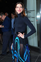 Anne Hathaway - 'Serenity' Premiere in NYC 1/23/19