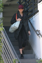 Jessica Alba - Leaving the gym in West Hollywood 2/24/18