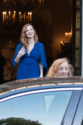 Jessica Chastain -                   Shangri-La Hotel Paris June 18th 2018.