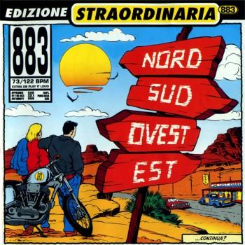 883 - Nord Sud Ovest Est (Edizione Straordinaria 2000) (1993) .flac -1005 Kbps