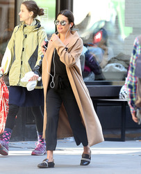 Lea Michele - Out in NYC after spa visit - 04/29/2018