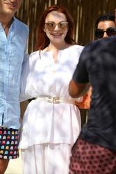 Lindsay Lohan - Lohan Beach House Opening in Mykonos 5/28/18