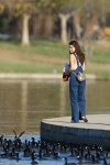 Selena Gomez at Lake Balboa park in Encino 02/02/2018ae9682737638643